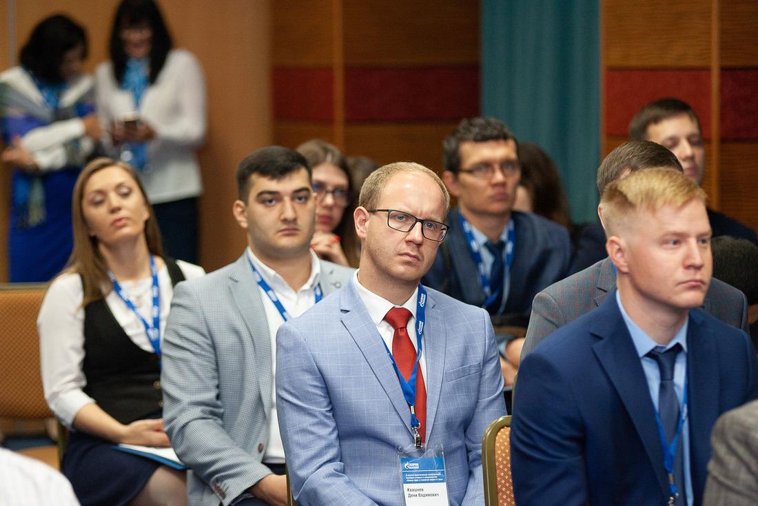 В конференции принимают участие молодые ученые испециалисты дочерних обществ ПАО«Газпром» испециализированных компаний